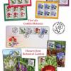 Timbrul cinstește frumusețea și gingășia florilor din grădinile botanice românești
