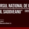 """Înscrieri la Concursul Național de Proză """"Mihail Sadoveanu"""", ediția a VI-a"""