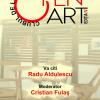 Radu Aldulescu, invitat la a patra ediție a Clubului de lectură Open Art