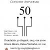 AG Weinberger, Mr. Blues al României, îşi  va sărbători cea de-a 50-a aniversare pe scenă