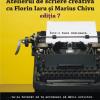 Înscrieri la atelierul de scriere creativă cu Marius Chivu și Florin Iaru