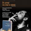 """Cosmin Perţa citeşte din """"În urmă nu mai e nimic"""", la Clubul Ţăranului"""