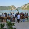 """Expoziție pe malul Dunării. A 32-a ediție a Taberei Internaţionale de Creaţie """"Mraconia – Dubova, I. Mercea"""", la final"""