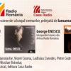 """""""George Enescu şi interpreţii săi istorici"""",  la Editura Casa Radio"""
