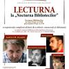 """Gabriel H. Decuble, Marius Surleac și Ion-Valentin Ceaușescu, la """"Lecturna"""""""
