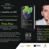 """Lansare şi sesiune de autografe: """"Press Pass. Interviuri și însemnări de jurnal de la Festivalul Internațional """"George Enescu"""""""" de Marius Constantinescu"""
