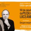 """""""50 de minute cu Pleșu și Liiceanu"""", ediție specială în librăria Humanitas de la Cișmigiu"""