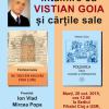 Întâlnire cu Vistian Goia și cărțile sale, la USR Cluj