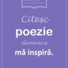 "S-a lansat campania ""Citesc poezie"""