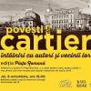 """Compania de Librării București lansează proiectul """"Povești din cartier. Întâlniri cu autori și vecinii lor"""
