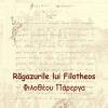 """""""Răgazurile lui Filotheos"""", de Nicolae Mavrocordat, ediție bilingvă"""