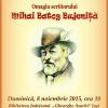 Omagiu scriitorului Mihai Batog Bujeniţă, la Iași