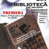 """Premiera """"Actorul din bibliotecă"""", la Teatrul Arte dell' Anima"""