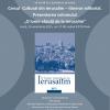 """Prezentarea volumului """"O lume văzută de la Ierusalim"""", la  ICR Tel Aviv"""