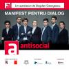ANTISOCIAL. Manifest pentru dialog în 21 de orașe ale țării