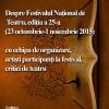 Despre Festivalul Național de Teatru- ediția a 25-a, la Cafeneaua critică