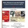 """Contemporary Literature Press anunță apariția volumului """"Ce plăcere să înveți adevărata engleză!"""""""