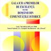 Gala ICR a Premiilor de Excelență pentru românii din comunitățile istorice