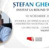 Ștefan Gheorghiu, la Round Table București