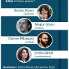 """Denisa Duran, Mugur Grosu și Ciprian Măceșaru, la prima ediție a întâlnirilor literare """"Citesc poezie"""""""