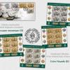 Colecția numismatică a Băncii Naționale a României pe mărcile poștale