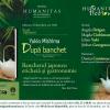 """Seară japoneză dedicată romanului """"După banchet"""" de Yukio Mishima, la librăria Humanitas de la Cişmigiu"""
