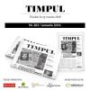A apărut noul număr al revistei de cultură contemporană TIMPUL