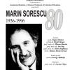 Marin Sorescu – 80  (1936-1996)