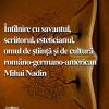 Mihai Nadin, la Cafeneaua critică