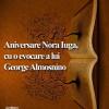 Aniversare Nora Iuga, cu o evocare a lui George Almosnino