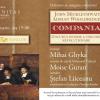 """Moise Guran, Mihai Ghyka și Ștefan Liiceanu,  invitați la dezbaterea pe marginea volumului """"Compania. Scurtă istorie a unei idei revoluționare"""""""