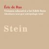 """Lansare de carte: """"Viziunea educativă a lui Edith Stein"""" de Éric de Rus"""