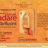 """Lansare de carte: """"Firida Rușinii"""", de Ismail Kadare"""