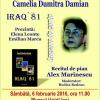 "Lansarea volumului ""Iraq`81"", de Camelia Dumitra Damian"