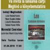 """Lansare de carte: """"Lea. Családom története"""" (Lea. Povestea familiei mele) de Andrei Klein"""