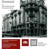 Despre Bucureştiul arhitectului Ernest Doneaud, la Palatul Suțu