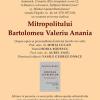 Moment aniversar Bartolomeu Valeriu Anania
