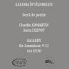"""Claudiu Komartin și Sorin Despot citesc la """"Galeria Întâlnirilor"""""""