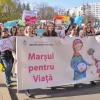 Peste 2000 de persoane, la Marșul pentru Viață de la Iași