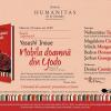"""Seară japoneză dedicată romanului istoric """"Nobila doamnă din Yodo"""" de Yasushi Inoue"""