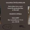 """Marius Oprea, despre """"Patru feluri de a muri"""", la Galeria Întâlnirilor"""