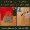 Expoziție de pictură Marin Gherasim și Alina Gherasim