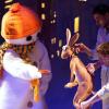 """""""Omul de zăpadă care voia să întâlnească soarele"""" de Matei Vișniec, la Teatrul Țăndărică"""