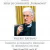 Conferință susținută de criticul și istoricul literar Valeriu Râpeanu