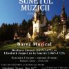 """Baroc muzical"" feminin, la Castelul Peleș"