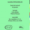 Poeţii Livia Ştefan şi Tiberiu Neacşu, invitaţi la Galeria Întâlnirilor