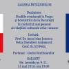 Anca Irina Ionescu, Petra Diotallevi Adámková şi Jiří Felix dezbat despre relaţii culturale ceho-române, la Galeria Întâlnirilor