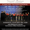Lansare de carte și Concert Internațional de Muzică Psaltică, în Aula BCU Iași