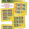 Mărcile poștale susțin România la Campionatul European de Fotbal Franța 2016