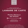 """Grigore Constantinescu lansează cartea """"Patru secole de operă – Istorie şi stiluri, personalităţi creatoare, capodopere, repertorii"""""""